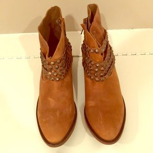 Steven by Steve Madden studded booties